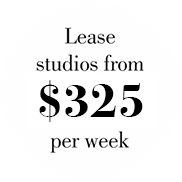 Lease Studios from $325 per week